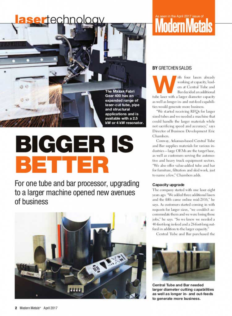 screen cap of modern metals magazine article on CTB